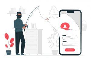 phishing account conept